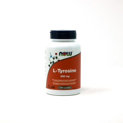 Picture of L-Tyrosine - 500 mg - 120 capsules