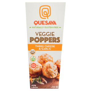 Picture of Cheese Poppers - Garlic Three Cheese - 400 g