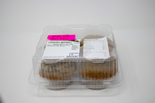 Picture of Muffins - Banana - 4 x 155 g