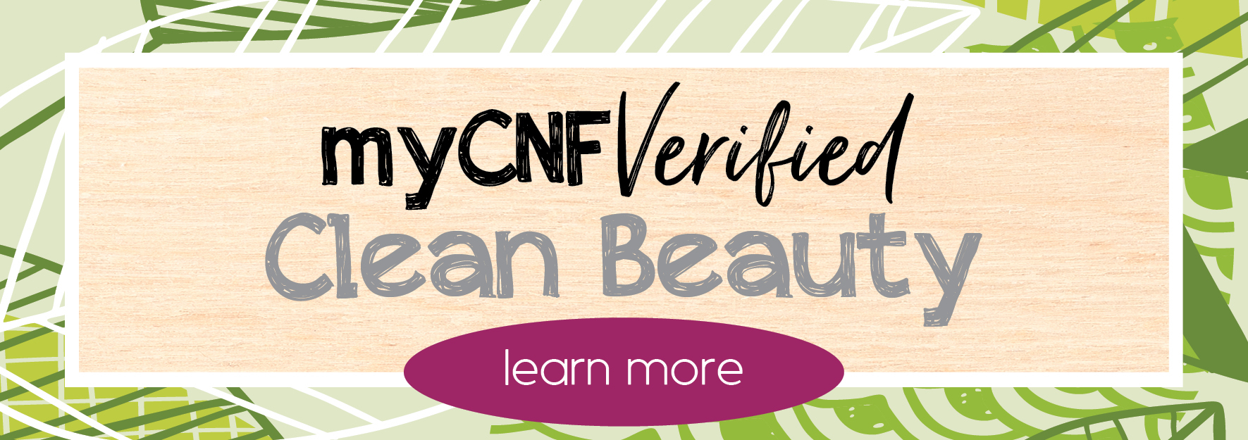 mycnf verified clean beauty