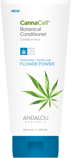 Picture of CannaCell Botanical Conditioner - Chamomile + Myrtle Leaf Flower Power - 251 ml