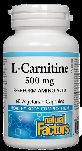 Picture of L-Carnitine - 500 mg - 60 veggie capsules