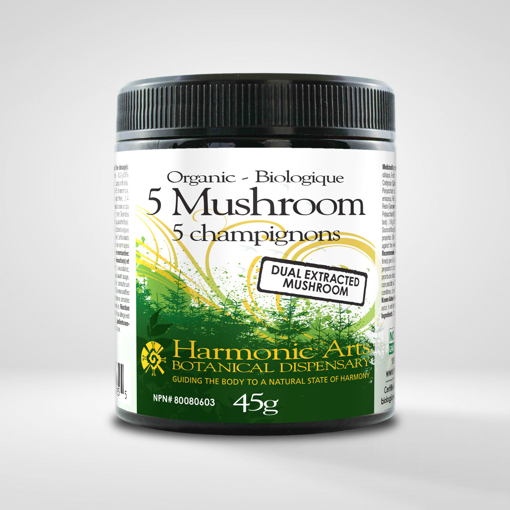 Picture of 5 Mushroom Dual Extracted - 45 g
