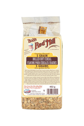 Picture of 5 Grain Rolled Hot Cereal - 453 g