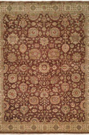 Good News Collection 3X5 Brown Wool Area Rug