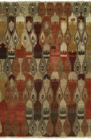 Craft Collection 3X5 Beige Wool Area Rug