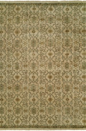 Craft Collection 3X5 Ivory Wool Area Rug