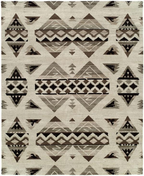 Rio Grande Collection 4X6 Wool Area Rug