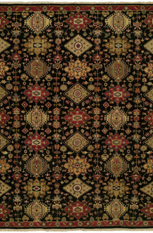 Adirondack Collection Runner Red Wool Area Rug