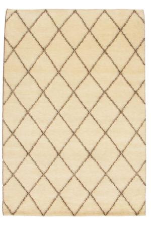 4X6 Ivory Wool Area Rug