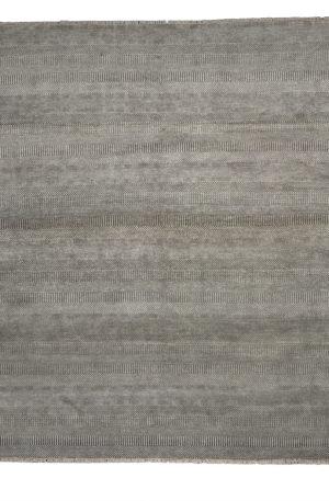 Contemporary 8X10 Grey Wool Area Rug