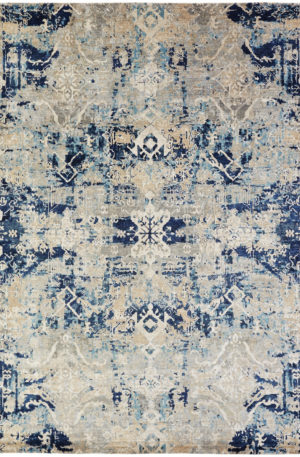 Milan Collection 5X8 Multi Color Area Rug