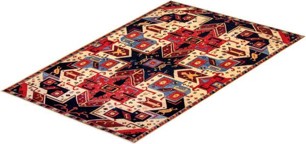 James opie 10X14 Ivory Multi Wool Area Rug
