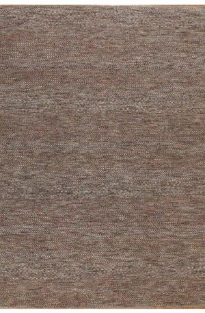 Contemporary Design Rust Wool 8x10 Amazon Area Rug