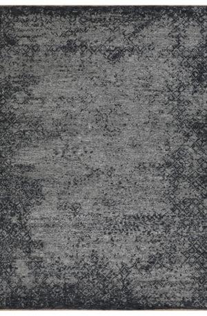 Contemporary Design Silver Wool 6 Foot Round Amazon Area Rug