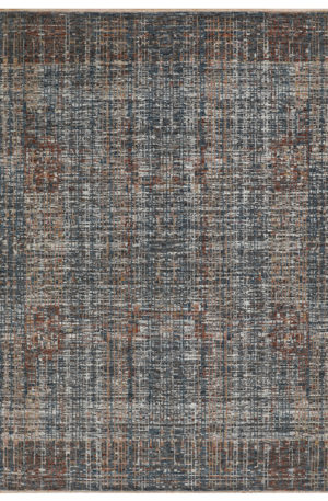 Contemporary Design Wool Charcoal 4x6 Amazon Area Rug