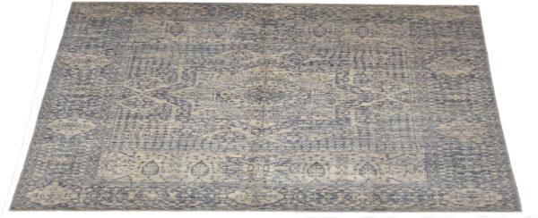 10X14 Silver Wool Area Rug