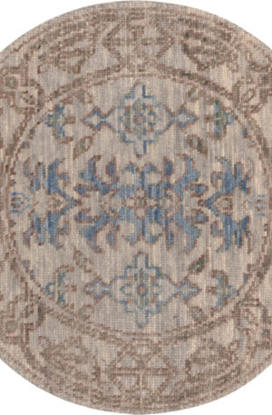 Transitional 3X5 Silver Silver Wool Area Rug