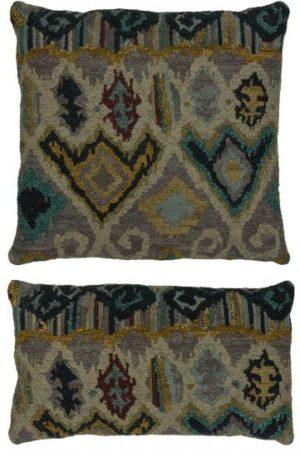 Flat Weave Natural Tones Pillow