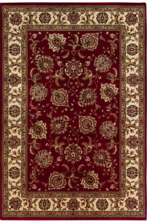 Ari Collection 5X8 Red Traditional Rug