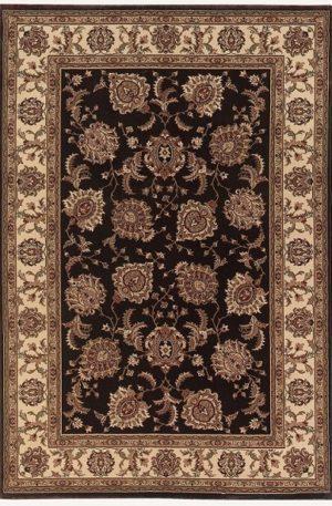 Ari Collection 4X6 Brown Traditional Area Rug