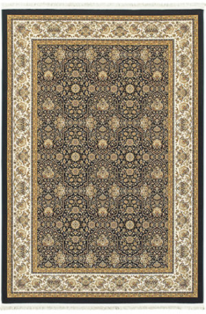 Classics Collection 5X8 Ivory Traditional Rug