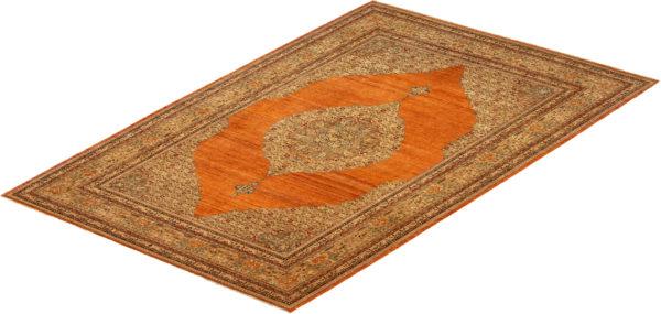 Afghan 10X14 Red Wool Area Rug