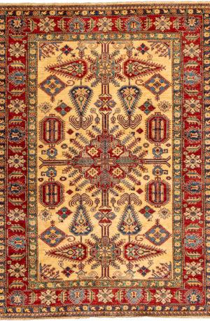 Pakistan Kazak 6X9 Wool Area Rug