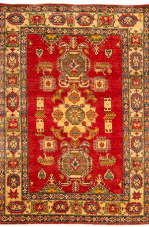 Pakistan Kazak 6X9 Red Wool Area Rug