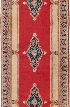 Tabriz Runner Red Wool Area Rug