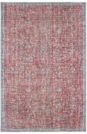 Wisdom Collection 4X6 Red Traditional Design Rug