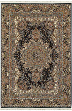 Machine Made 5X8 Synthetic Area Rug