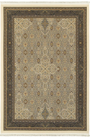 Classic Collection 5X8 Ivory Area Rug
