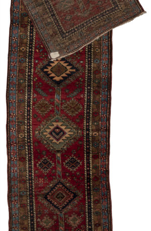 Armenia Karabagh Runner Red Wool Area Rug