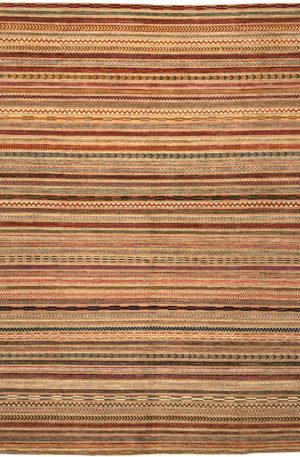 9X12 Multi Wool Area Rug