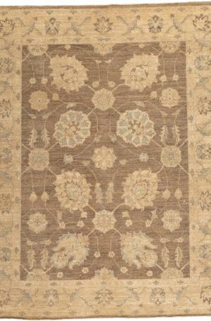 Pakistan Chobi 4X6 Beige Wool Area Rug