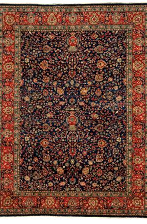 Afghan Nooristan 8X10 Blue Wool Area Rug
