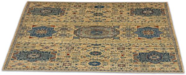 Afghanistan Nooristan Mamluck 10x13 Blue Wool Rug