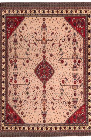 Persian Baluch Soumak 5X8 Beige Wool Area Rug