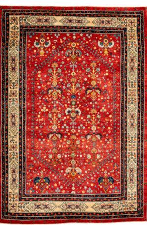 Persian Lori 5X8 Red Wool Area Rug