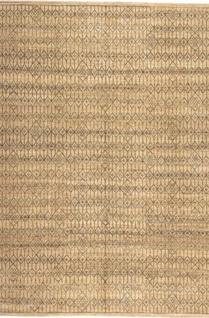 Nepal 9X12 Ivory Wool Area Rug