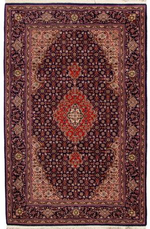 Tabriz 4X6 Blue Wool Area Rug