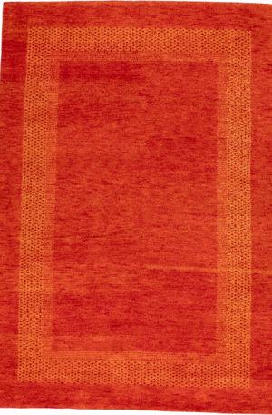 India Gabbeh 5X8 Wool Area Rug