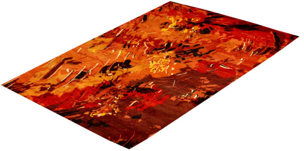 Contemporary Nepal 6X9 Wool Area Rug