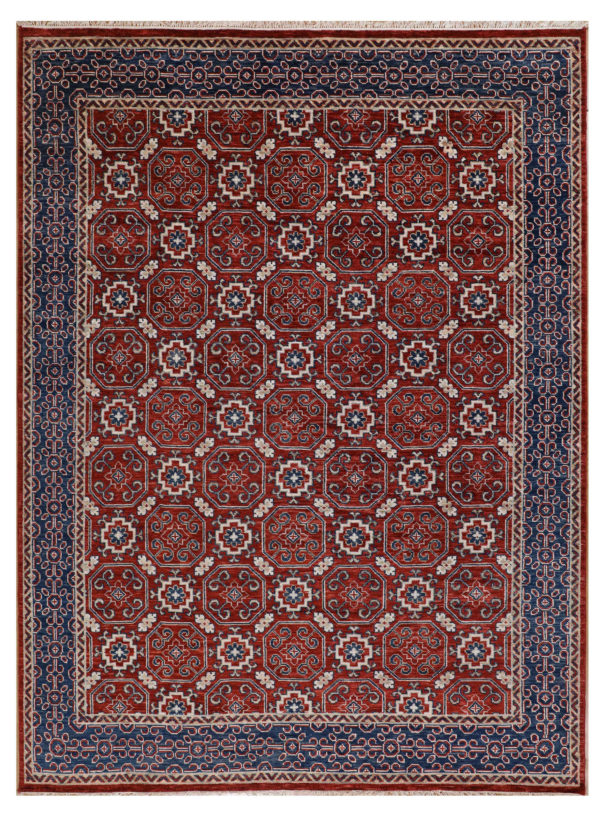 Anatolian Collection 9x12 Red Wool