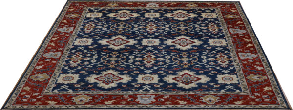 Anatolian Collection 9x12 Blue Wool Area Rug