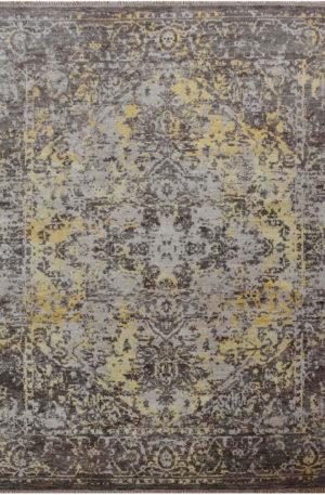 Indo Holara 8x10 Beige Wool Area Rug