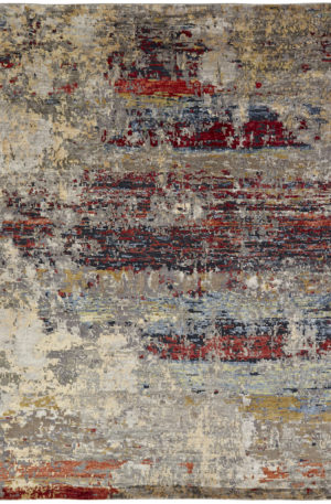 Lhasa Collection 8X10 Wool Area Rug
