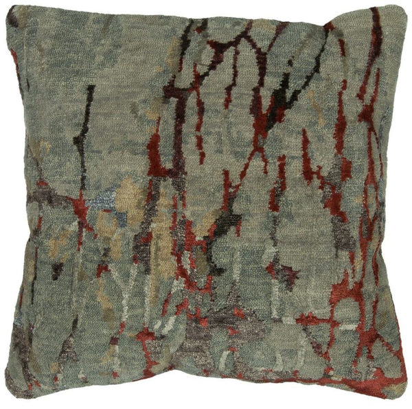 Contemporary 1X2 Wool Pillow