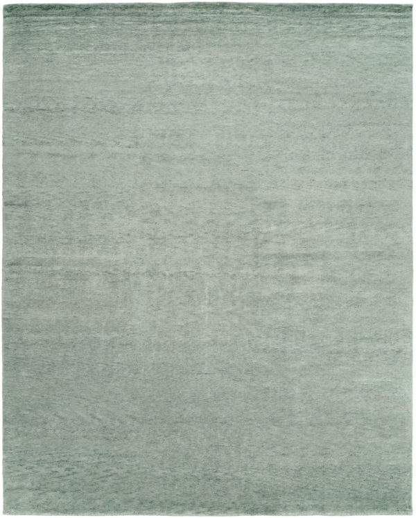 Essential Collection 3X5 Blue Wool Area Rug